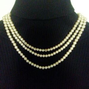 Vintage Sarah Coventry Faux pearls costume jewelry